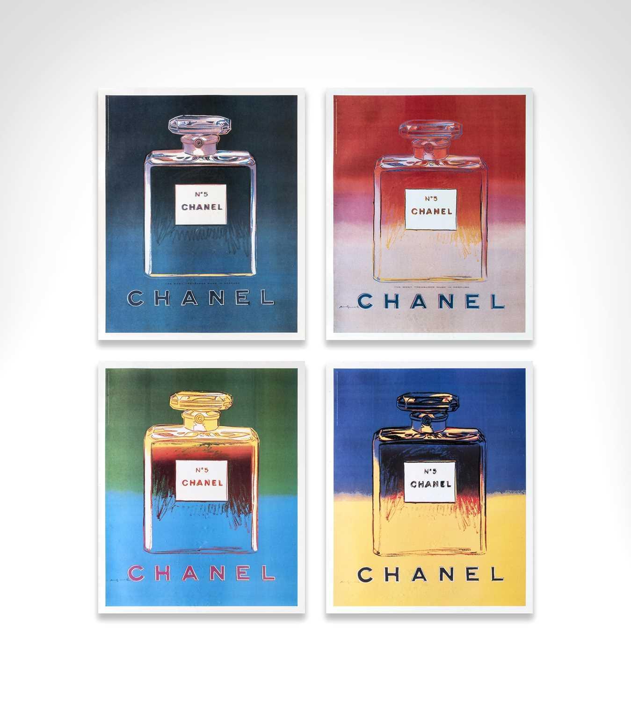 Lot 1 - Andy Warhol (American 1928-1987), 'Chanel No.5', 1997