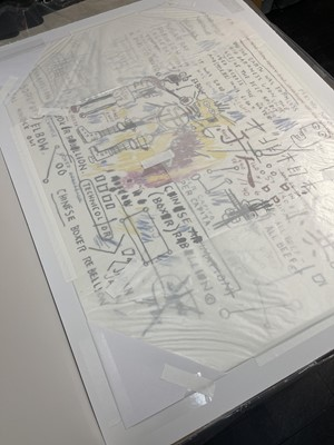 Lot 1 - Jean-Michel Basquiat (American 1960-1988)
