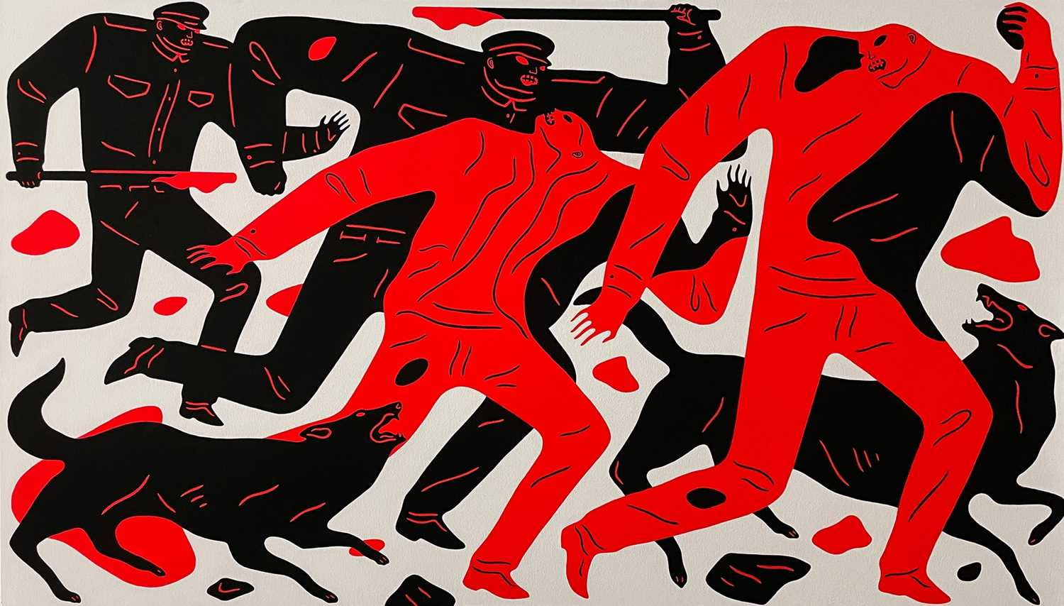 Lot 2 - Cleon Peterson (American 1973-)