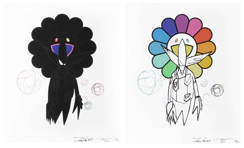 Lot 10 - Futura & Takashi Murakami  (Collaboration)
