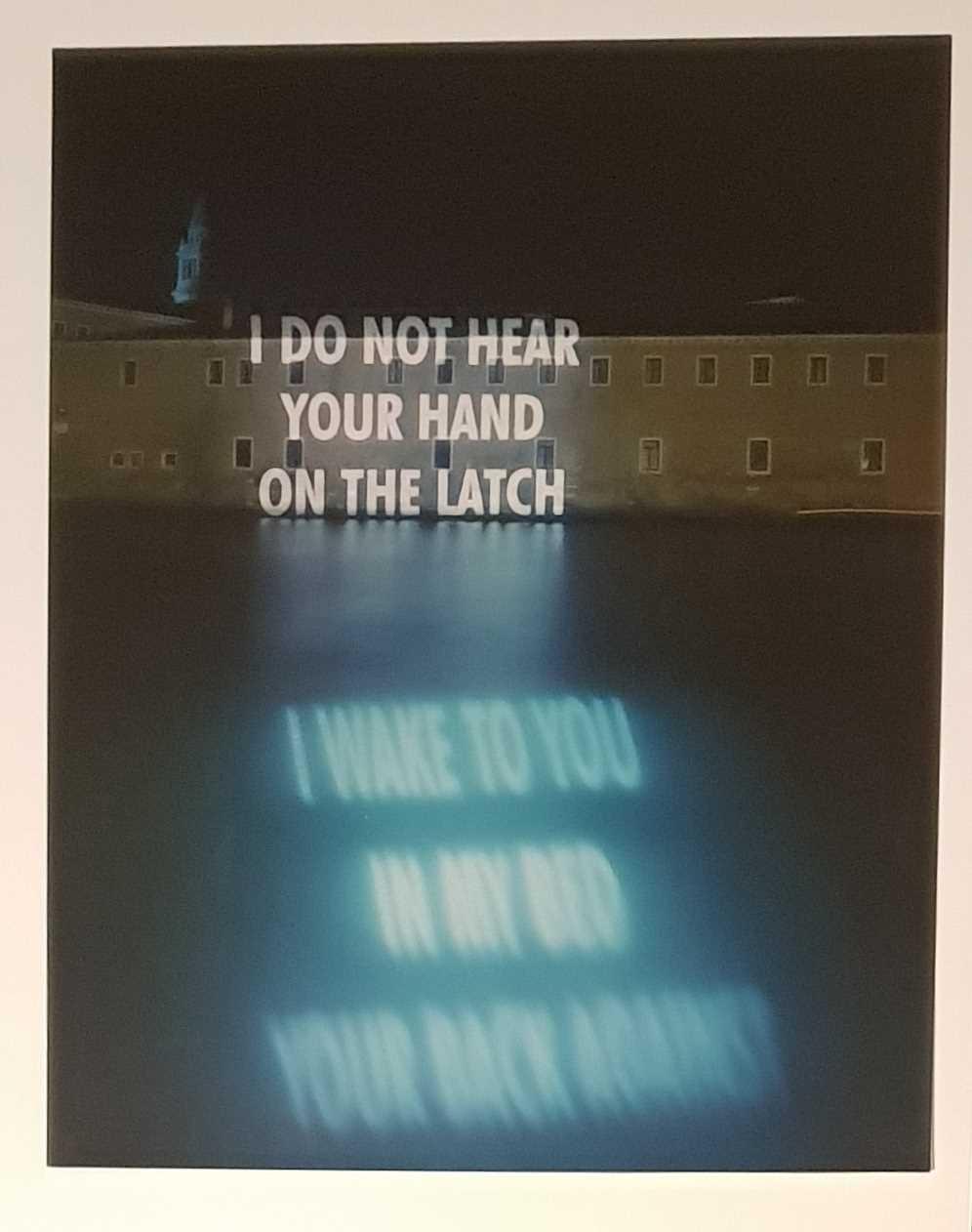 Lot 24 - Jenny Holzer (American 1950-)