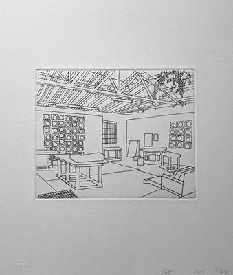 Lot 45 - Jonas Wood (American 1977-)