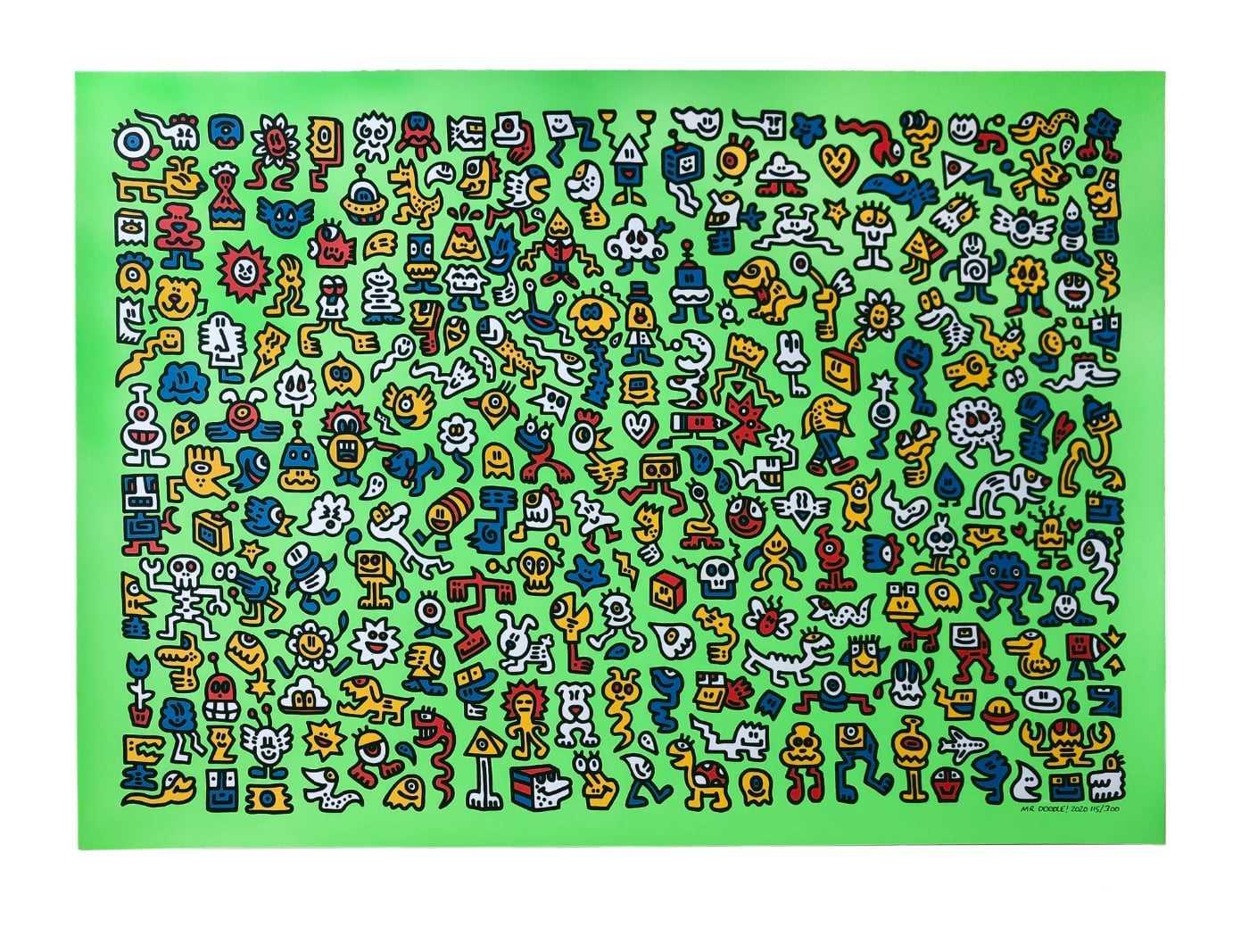 Lot 47 - Mr Doodle (British 1994-)