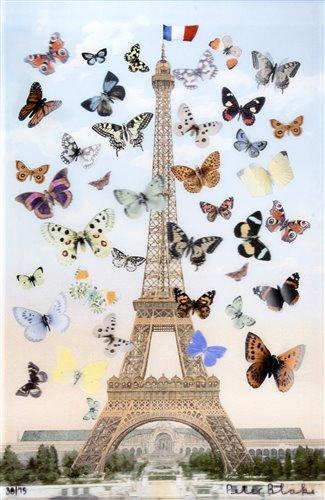 416 - Peter Blake (British b.1932), 'Eiffel Tower', 2013