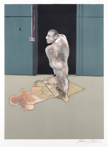 375 - Francis Bacon (British 1909-1992), 'Study For A Portrait Of John Edwards', 1987