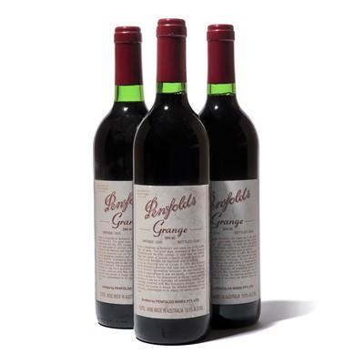 Lot 96 - 3 bottles 1995 Grange