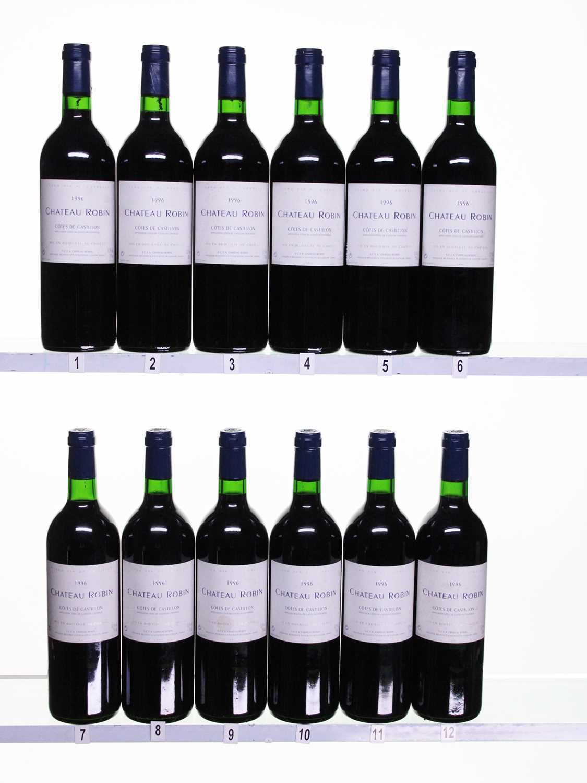 Lot 24 - 12 bottles 1996 Ch Robin
