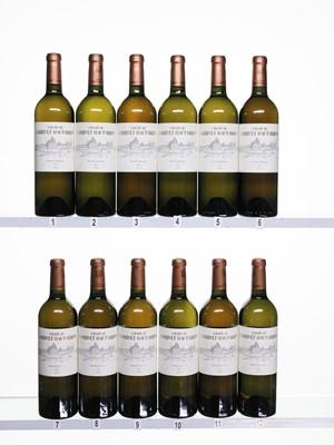 Lot 46 - 12 bottles 2005 Ch Larrivet Haut Brion Blanc