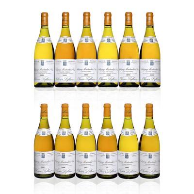Lot 57 - 12 bottles 2000 Puligny-Montrachet Folatieres O Leflaive