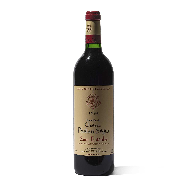 Lot 23 - 12 bottles 1994 Ch Phelan-Segur