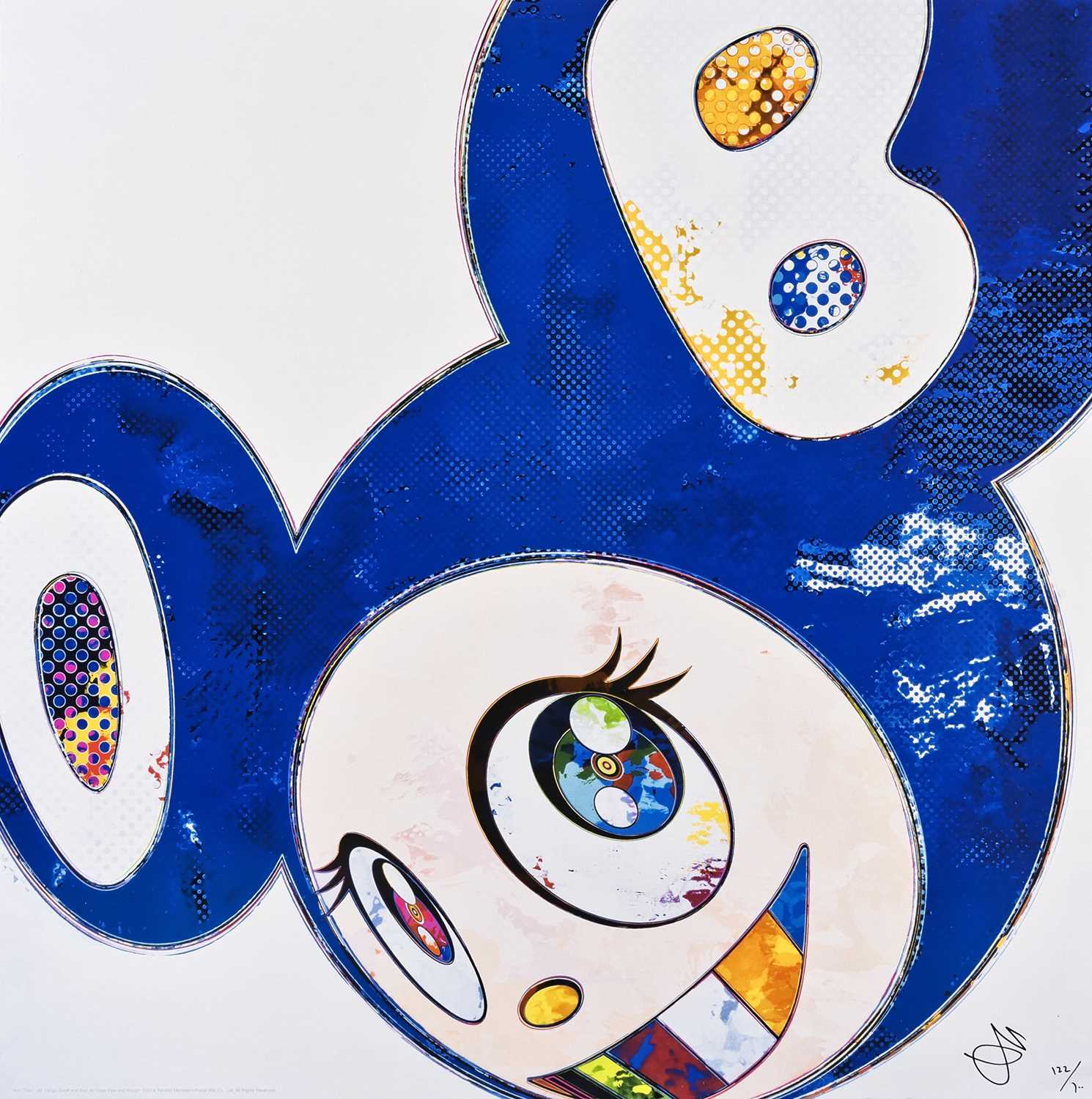 Lot 51 - Takashi Murakami (Japanese 1962-), 'And Then...All Things Good And Bad, All Days Fine And Rough', 2014
