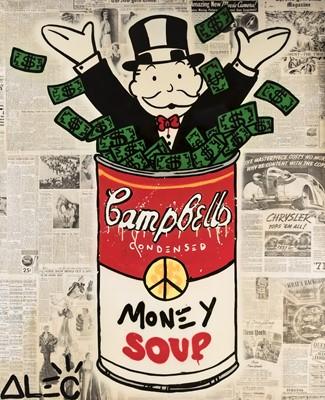 Lot 166 - Alec Monopoly (American 1986-), 'Money Soup', 2017