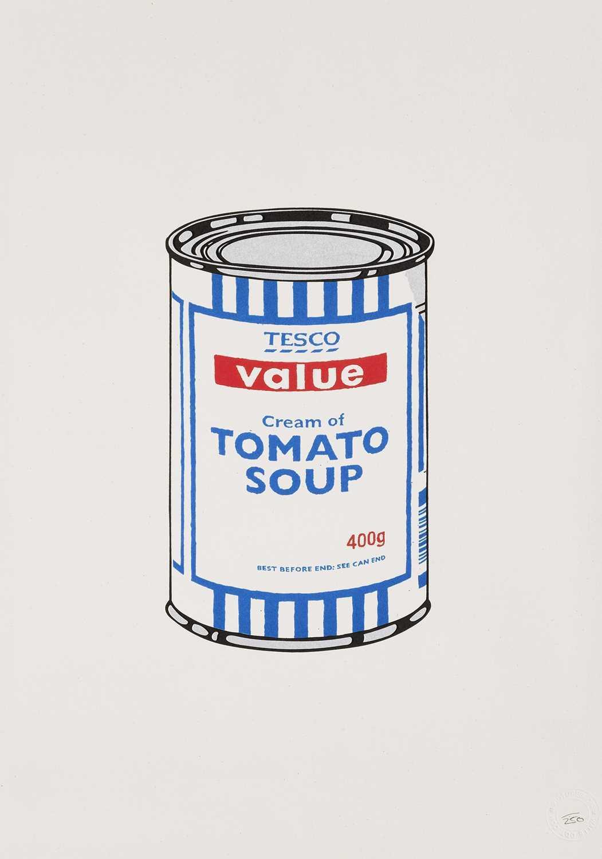 Lot 184 - Banksy (British 1974-), 'Soup Can', 2005