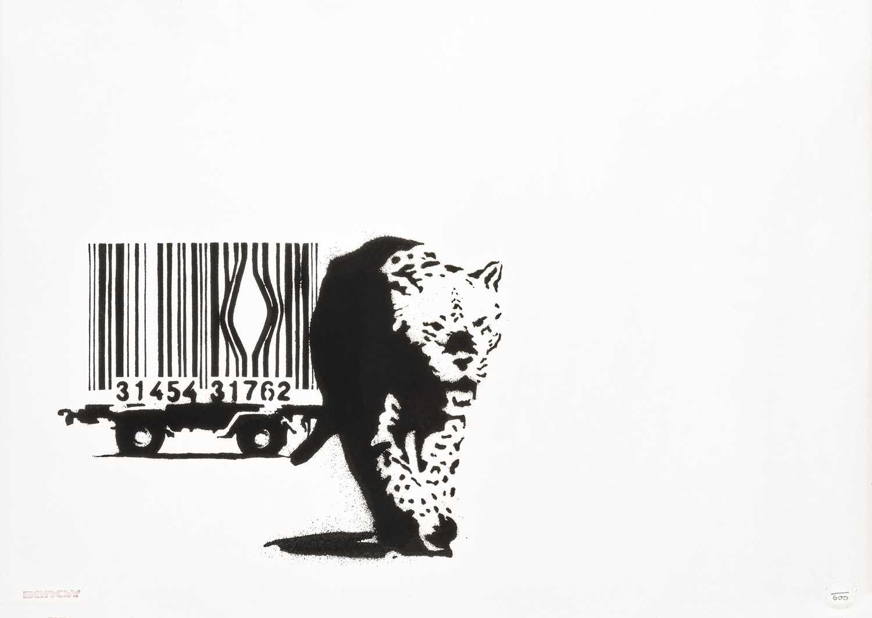Lot 241 - Banksy (British 1974-), 'Barcode', 2003