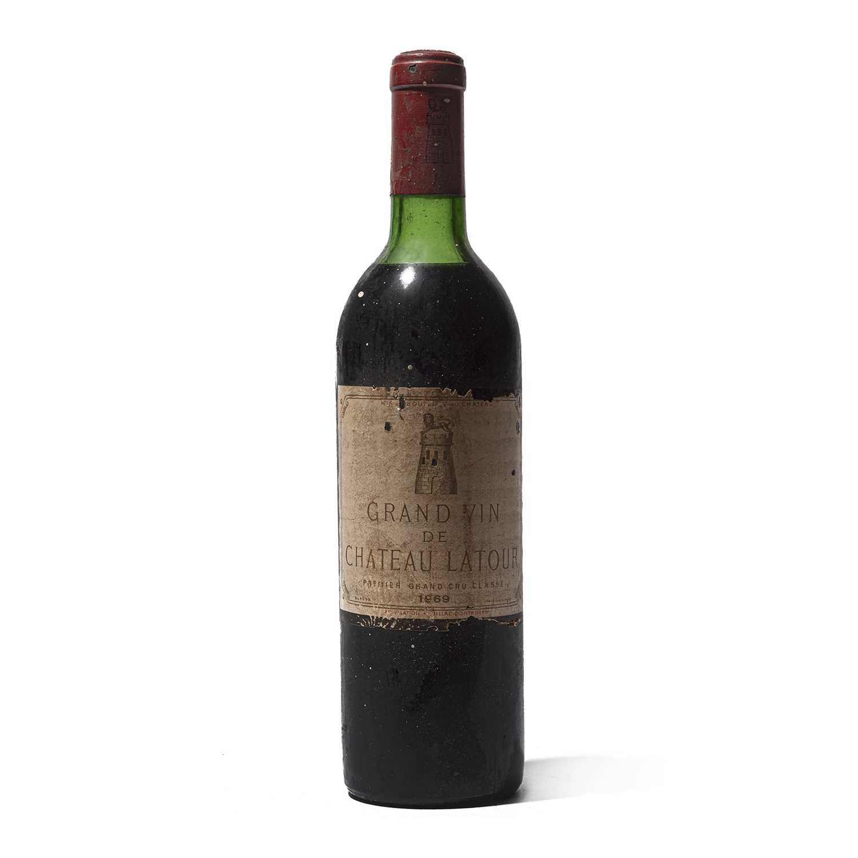 Lot 17 - 1 bottle 1969 Ch Latour