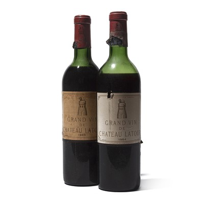 Lot 58 - 2 bottles Mixed Chateau Latour