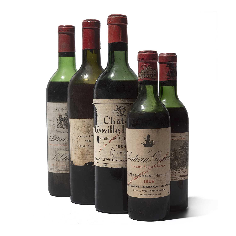 Lot 38 - 5 bottles Mixed Bordeaux