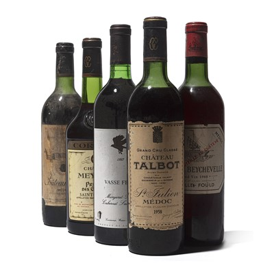 Lot 42 - 6 bottles Mixed Red Wines