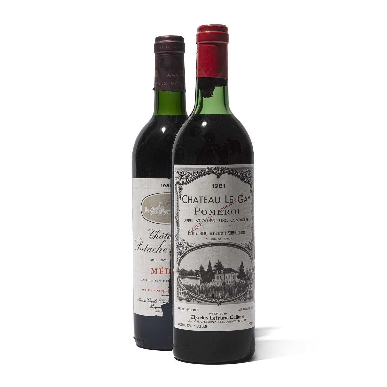 Lot 35 - 12 bottles Mixed Bordeaux