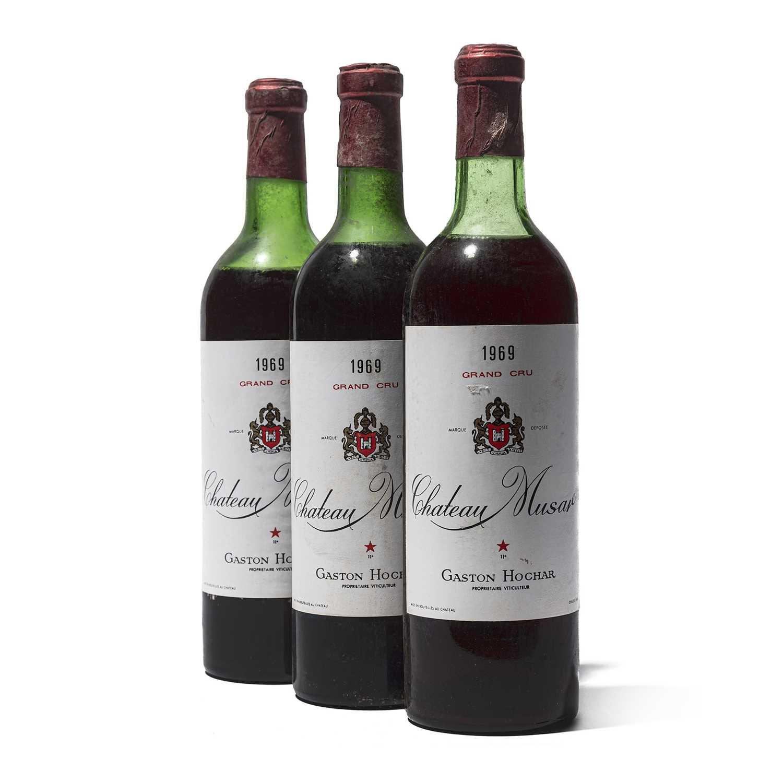 Lot 86 - 3 bottles 1969 Ch Musar
