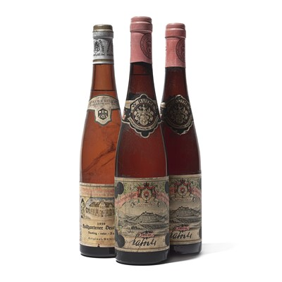 Lot 70 - 3 bottles Mixed German Wines