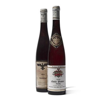 Lot 69 - 2 bottles Mixed 1937 German Wines