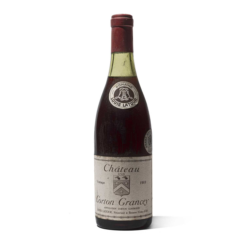 Lot 50 - 1 bottle 1969 Ch Corton Grancey