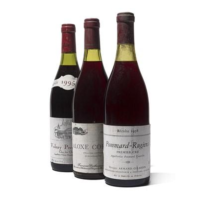 Lot 56 - 5 bottles Mixed Red Burgundy