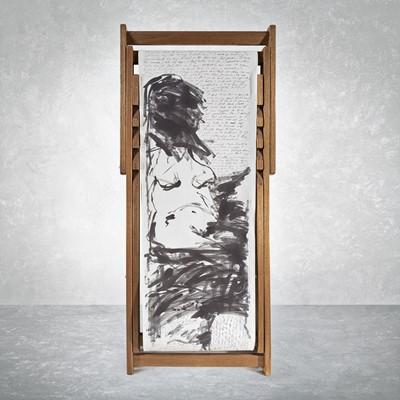 Lot 54 - Tracey Emin (British 1963-), 'Deck Chair', 2007