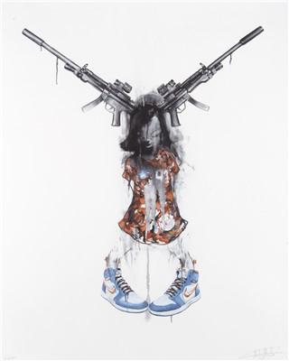 Lot 6-Antony Micallef (British b.1975), 'Minotaur Weapon', 2007