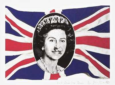 Lot 33 - Jamie Reid (British 1947-), 'God Save The Queen', 2005