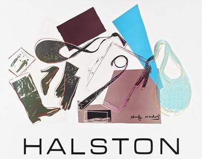 Lot 2 - Andy Warhol (American 1928-1987), 'Halston'