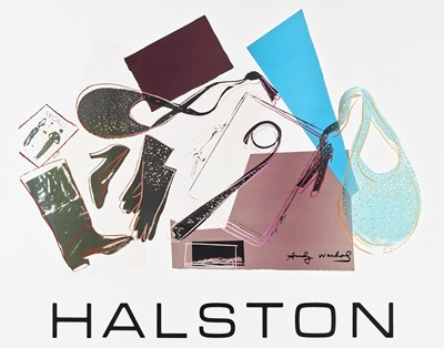 Lot 3 - Andy Warhol (American 1928-1987), 'Halston'