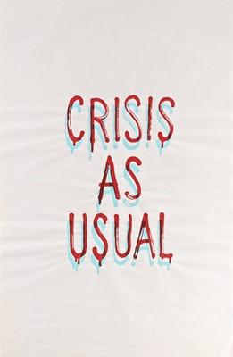 Lot 169 - Banksy (British 1974-), 'Crisis As Usual', 2019