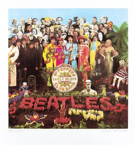 417 - Peter Blake (British b.1932), 'Sgt Pepper', 2012