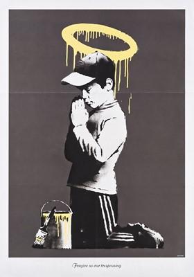 Lot 68 - Banksy (British 1974-), 'Forgive Us Our Trespassing', 2010