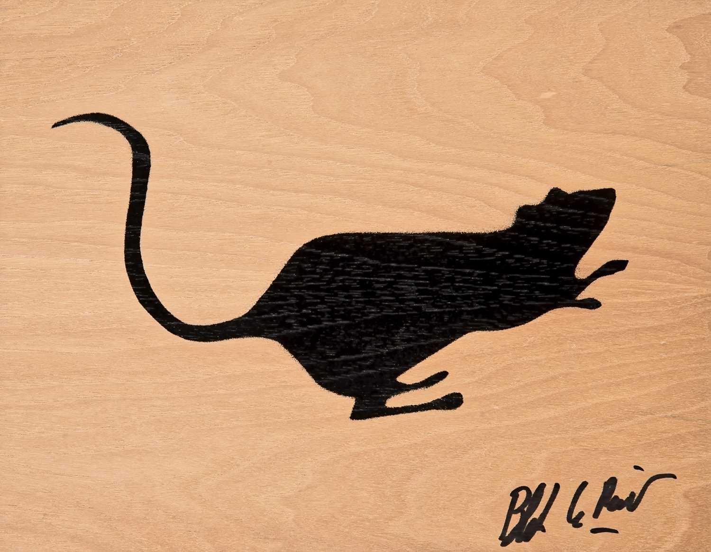 Lot 78 - Blek Le Rat (French 1951-), 'Rat Stencil', 2011