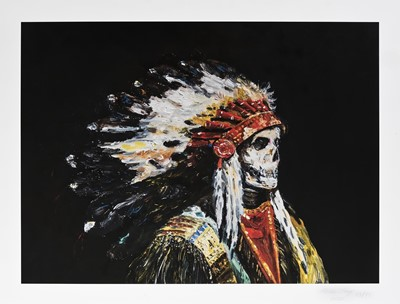 Lot 164 - Wes Lang (American 1972-), 'To Tell The Truth', 2020