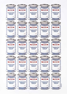 Lot 173 - Banksy (British 1974-), 'Soup Cans Poster', 2010