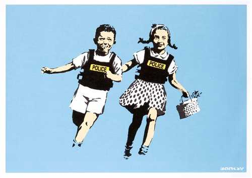 Lot 247 - Banksy (British 1974-), 'Jack & Jill', 2005
