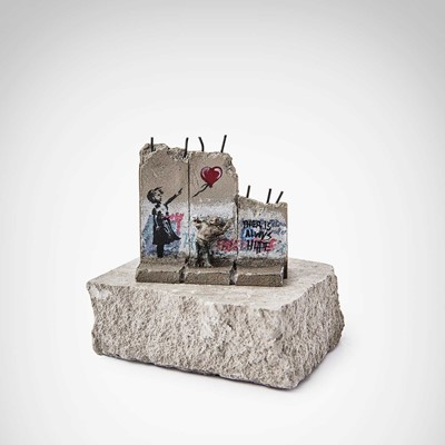 Lot 168 - Banksy (British 1974 -), 'Walled Off Hotel - (Girl With Balloon)'