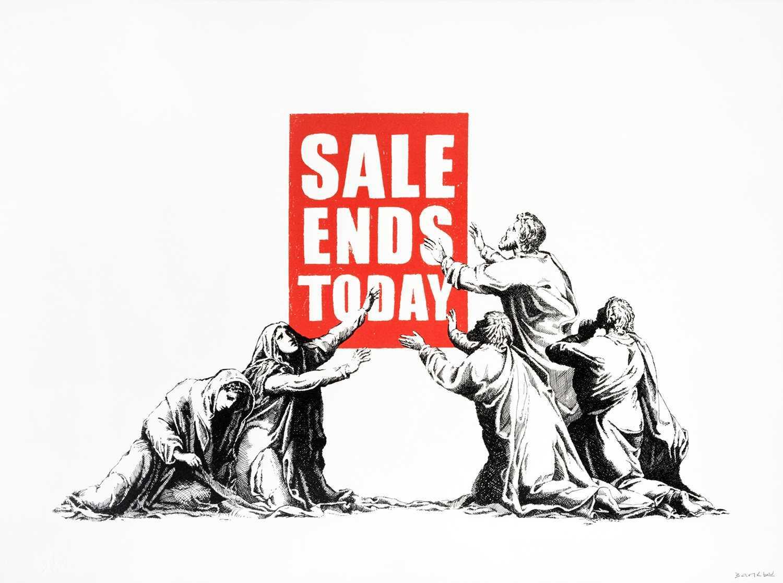 Lot 238 - Banksy (British 1974-), 'Sale Ends (V2)', 2017