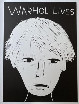 Lot 143 - David Shrigley (British 1968-), 'Warhol Lives', 2019