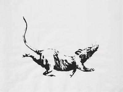 Lot 172 - Banksy (British 1974-), 'GDP Rat', 2019