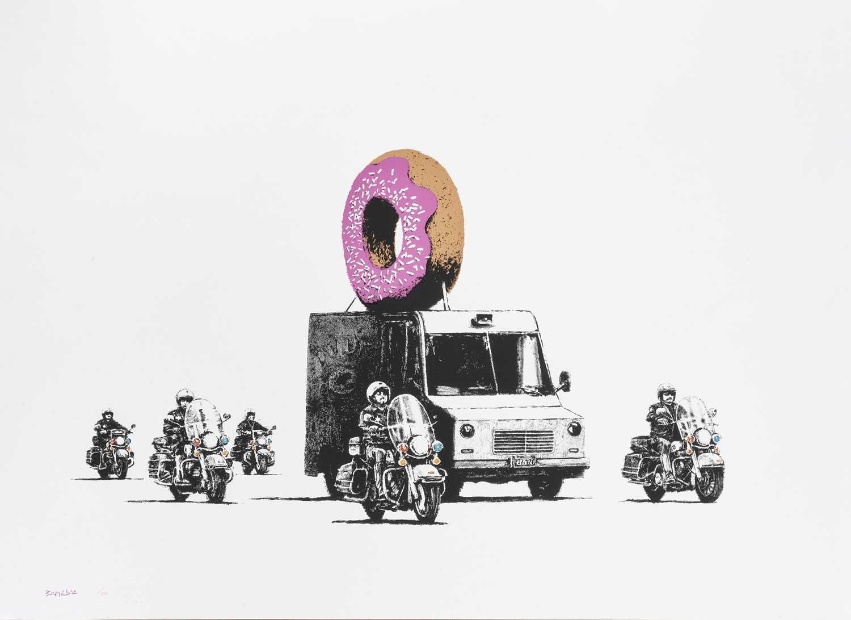 Lot 245 - Banksy (British 1974-), 'Donuts (Strawberry)', 2009