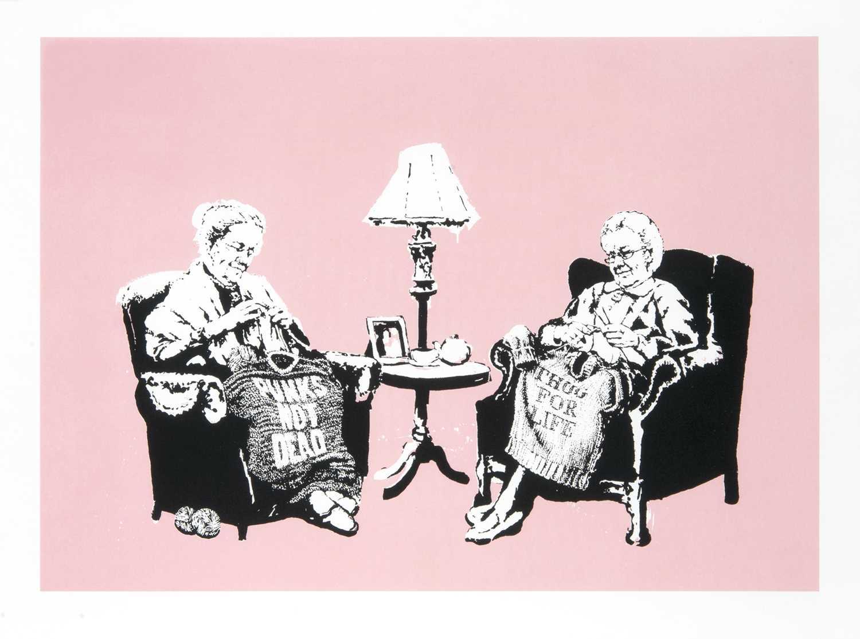 Lot 246 - Banksy (British 1974-), 'Grannies', 2006