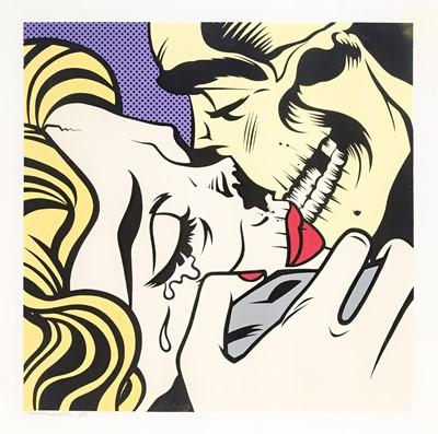 Lot 53 - D*Face (British 1978-), 'Kiss Of Death (Venom)', 2011