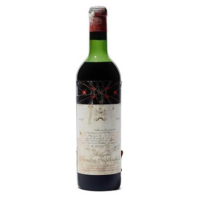 Lot 18 - 1 bottle 1959 Ch Mouton Rothschild