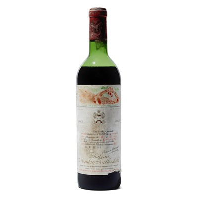 Lot 20 - 1 bottle 1963 Ch Mouton Rothschild