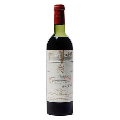 Lot 16 - 1 bottle 1954 Ch Mouton Rothschild